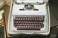 Olympia (A to Z) (Eclectic Jack) Tags: typewriter retro olympia store antique deluxe type machine case oregon portland