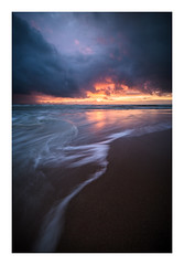 Birling Gap / December 20th (Edd Allen) Tags: uk greatbritain sea england seascape clouds landscape coast seaside nikon atmosphere coastal southeast eastsussex birlinggap winter sunset atmospheric d810 nikond810