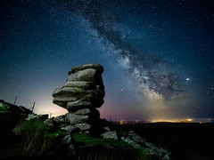 The Cheesewring (Timothy Gilbert) Tags: stoweshill cheesewring wideangle astrophotography bodminmoor minions microfournerds m43 microfourthirds lumix laowacompactdreamer75mmf20 gx8 milkyway cornwall lovecornwall panasonic