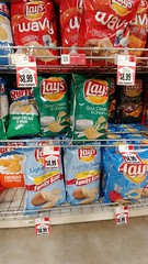 Maybe You Can Eat Just One??? (jimmywayne) Tags: expensive bethel censusarea alaska commercialcompany grocery supermarket lays potatochip chips