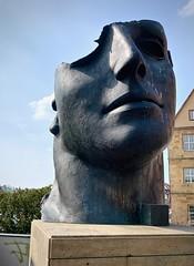Mitoraj in Bamberg (kimbar/Thanks for 4.5 million views!) Tags: bamberg bavaria germany sculpture statue head igormitoraj mitoraj