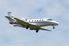 CS-DXR Cessna 560XLS Citation Excel (amisbk196) Tags: unitedkingdom airport bigginhill aviation amis flickr aircraft kent uk 2019 csdxr cessna 560xls citation excel