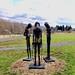 Pierre Dupras, Libertés enchainées, hommage à Pierre Falardeau, Fer soudé, 1997