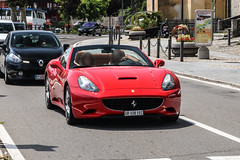 Switzerland (Grigioni) - Ferrari California (PrincepsLS) Tags: switzerland swiss license plate gr grigioni italy tremezzo spotting ferrari california