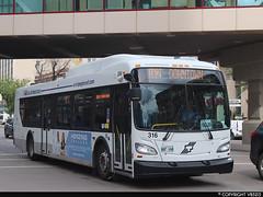 Winnipeg Transit #316 (vb5215's Transportation Gallery) Tags: winnipeg transit 2018 new flyer xd40 xcelsior