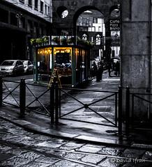 milano at night (David Ifrah) Tags: milano bar italy storyofthestreet streetphotographers bnw blacknwhite bwphoto bnwcaptures superhubs urbanandstreet bnwofourworld bnwmagazine