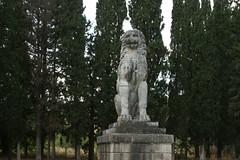 Ο Λέοντας της Χαιρώνειας (The Lion of Chaeronea). (Giannis Giannakitsas) Tags: βοιωτια viotia boeotia χαιρωνεια chaeronea chaironeia lion λιονταρι λεοντασ λεων