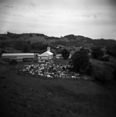 Graveyard (Blurmageddon) Tags: holga120gcfn mediumformat 6x6 toycamera travel brazil blackandwhite tmy400 kodak tmax400 adoxaph09 rodinal 125 unicoloruniroller santoantoniodapatrulha epsonv700