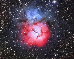 M20 Trifid HaRGB (Joel Quimpo) Tags: trifid nebula m20 ngc 6514 halrgb astrophotography williamoptics153 atik 460ex deep space sagittarius