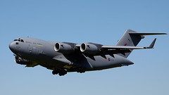 Globemaster (Bernie Condon) Tags: globemaster boeing c17 transport cargo airlift strategictransport raf royalairforce military rafbrizenorton brize