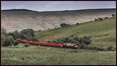 Vale of Edale (Blaydon52C) Tags: dbschenker ews railway rail railways railfreight trains train transport railroad locomotive locomotives loco 66087 hope edale peak