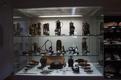 Mine lamps and tools (Chickenhawk72) Tags: museum for minerals mathematics schulstrase 77709 oberwolfach mima germany black forest grube clara mine mineral crystal schwarzwald wolfach badenwürttemberg lamps tools