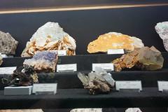 Fluorite and Barite, Clara Mine (Chickenhawk72) Tags: museum for minerals mathematics schulstrase 77709 oberwolfach mima germany black forest grube clara mine mineral crystal schwarzwald wolfach badenwürttemberg