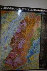 Geological Map (Chickenhawk72) Tags: museum for minerals mathematics schulstrase 77709 oberwolfach mima germany black forest grube clara mine mineral crystal schwarzwald wolfach badenwürttemberg