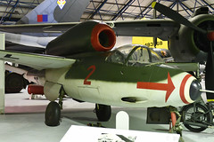 Heinkel He 162 Volksjäger (Bri_J) Tags: rafmuseum hendon london uk airmuseum museum aviationmuseum nikon d7500 heinkel he162 volksjäger jet fighter wwii luftwaffe
