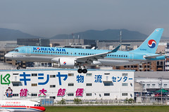 KOREAN AIR CS300 HL8092 002 (A.S. Kevin N.V.M.M. Chung) Tags: fukuoka fuk aviation aircraft aeroplane airport airlines plane spotting landing bombardier cs300 cseries