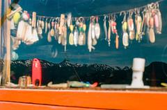 Reflection (LXG_Photos) Tags: alaska analog elannii film proimage100 anoalog reflection fishing mountains chinapootbay