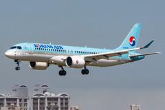 KOREAN AIR CS300 HL8092 001 (A.S. Kevin N.V.M.M. Chung) Tags: fukuoka fuk aviation aircraft aeroplane airport airlines plane spotting landing bombardier cs300 cseries