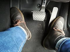 A Doc. Martin day today me thinks. (daveandlyn1) Tags: boots docmartins footwell car carpets pedals jeans legs pralx1 p8lite2017 huawei smartphone cameraphone psdigitalcamera