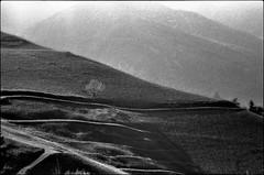 Wege gehen (jo.sa.) Tags: landschaft analog analogefotografie lebensraum bw sw kleinbild schnee wege berge