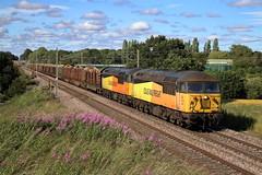 56087 56078 6J37 Red Bank (cmc_1987) Tags: 56087 56078 class56 colasrailfreight colas redbank wcml newtonlewillows br britishrail railfreight 6j37 chirk carlisleyard