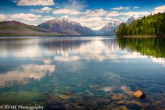 Lake McDonald View (Ry Meehan) Tags: landscape glaciernationalpark montana usa nationalparks mountains lake color reflection clouds