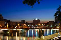 DSC_5429 (alexander.gusev) Tags: moscow night river bridge огни отражение mirror