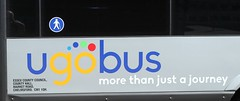 ugobus ....more than just a journey . (AndrewHA's) Tags: bus harlow station just more journey than ugobus county logo council essex minibus fleetname
