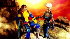 It's getting late (custombase) Tags: marvellegends xmen figures storm forge desert diorama toyphotography