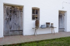 Old farmer's house (memories-in-motion) Tags: farm bauernhof traditionell bank miclchkanne weis alt rural tools farming yesterday eimer tür holz fuji gf3264mmf4rlmwr gfx50r