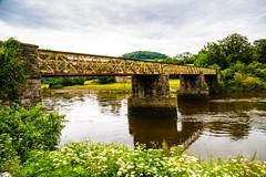 Old Steel Bridge at Tertern (Geordie_Snapper) Tags: canon5d4 canon2470mm forestofdean june landscape oldsteelbridgetertern summer tintern tinternabbey
