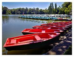 row boats in a row...;-) (kurtwolf303) Tags: ruderboote rowboats rowingboats see laxenburg park huaweiy7 kurtwolf303 wasser water lake frame fotorahmen austria österreich niederösterreich loweraustria