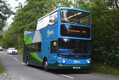 17490. LX51 FMK: Stagecoach North West (chucklebuster) Tags: lx51fmk stagecoach north west cumbria lancashire east london dennis trident alexander alx400