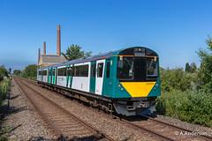230003 20190705 Stewartby (steam60163) Tags: class230 dstock marstonvale marstonvaleline stewartby londonnorthwestern londonnorthwesternrailway londonunderground londontransport