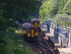 150261 & 150232 Penryn (1) (Marky7890) Tags: 150261 2t84 gwr 150232 class150 sprinter 2f85 penryn railway cornwall train maritimeline