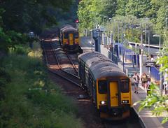 150261 & 150232 Penryn (Marky7890) Tags: 150261 2t84 gwr 150232 class150 sprinter 2f85 penryn railway cornwall train maritimeline