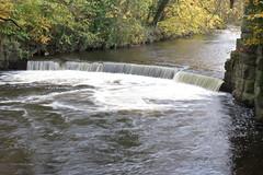 Weir on River Goyt, Brabyns Park, Marple Bridge, Cheshire (HighPeak92) Tags: weirs rivers rivergoyt brabynspark marplebridge cheshire canonpowershotsx700hs