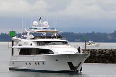 2019-07-05 Motor Yacht Reposado (01) (1024x680) (-jon) Tags: boat ship yacht vessel skagit pugetsound sanjuanislands anacortes washingtonstate skagitcounty salishsea reposado fidalgoisland capsantemarina fidalgobay motoryacht a266122photographyproduction mmsi316039229 crescentcustomyachts flipper megayacht superyacht canonpowershotelph180