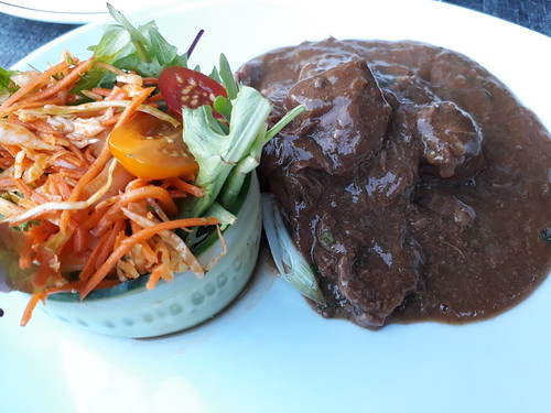 Flemish Stew with Salad