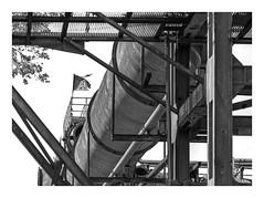 Die Stadt 342 (sw188) Tags: deutschland dortmund westfalen ruhrgebiet nrw sw street industrielandschaft industriegebiet bw blackandwhite westfalenhütte igm