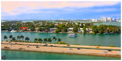Miami in Miniature (Looking for something to post!!) Tags: canon eos 70d 1022mm symphonyoftheseas royalcaribbean rccl cruise caribbean miniature selectivefocus psp2019 paintshoppro2019 efex topazstudio topaz miami florida