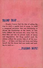 Leisure Books 663 - Don Bellmore - Sin Helper (back) (swallace99) Tags: leisurebooks greenleaf vintage 60s sleaze paperback