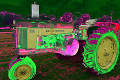 John Oh-Deere! (DDM Imaging) Tags: tractor art artist artists bizarre farm farming tractors illusion vintage machine abstract abstracts johndeere camera sony a7ii a7m2
