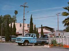 Alviso, California (bior) Tags: alviso sanjose california pentax645nii pentax645 6x45cm portra160vc portra kodakportra mediumformat 120 truck street