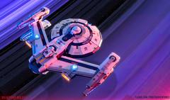 "USS Jefferies (Ben ""Spaceship!"" Smith) Tags: star trek lego"