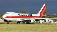 N710CK 747 Kalitta Air (Anhedral) Tags: n710ck boeing 747 747400f cks kalittaair freighter cargo einn snn shannonairport