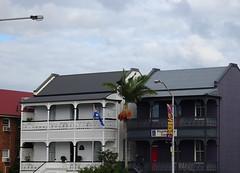 Brisbane Terraces (mikecogh) Tags: normanby terraces balconies heritage lacework iron terracedhouses