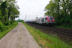 BB 75017 et citernes (Thomas-60) Tags: bb75000 lineas ferroviaire wascosa train