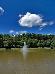 Indian Lake Park (George Neat) Tags: north huntingdon irwin park lake pond water westmoreland county pa pennsylvania laurelhighlands outside scenic scenery landscape georgeneat patriotportraits neatroadtrips clouds
