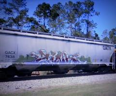 zink (timetomakethepasta) Tags: zink wh freight train graffiti art gatx grainer hopper gacx stv